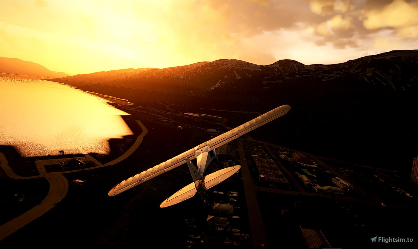 Alaska Glacier Series-Bush Trip-01: Whittier to Palmer Flight Simulator 2020