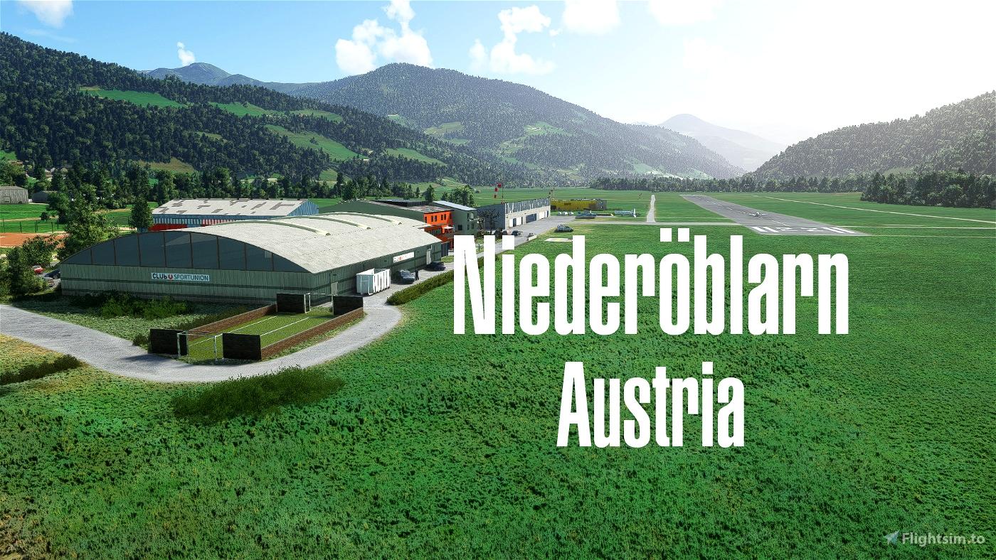 LOGO Niederöblarn/Austria Microsoft Flight Simulator