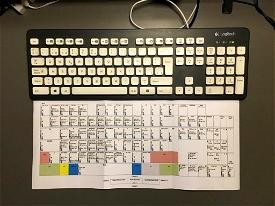 Customizable Keyboard Layout with Default MSFS Commands Microsoft Flight Simulator