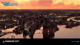 Hamburg Image Flight Simulator 2020