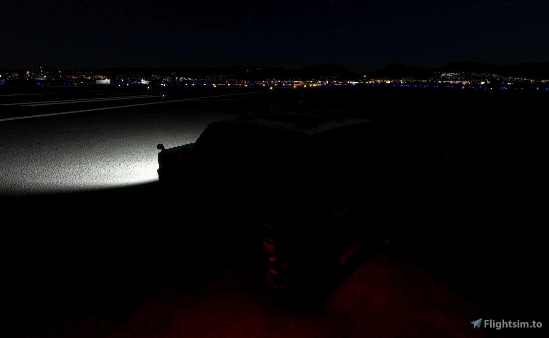 Mitsubishi Pajero - The Sky Lounge Ground Ops