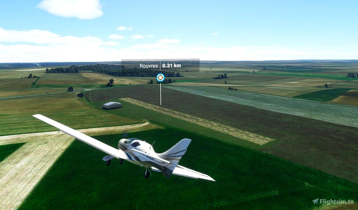 Terrain ULM Rouvres LF1454 Flight Simulator 2020
