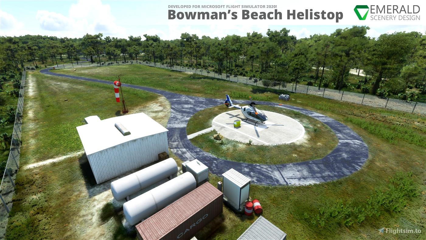 Bowman's Beach Helistop, Sanibel Island, Florida (4FD9)
