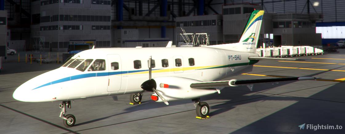 Amazonaves PT-SHU NextGen EMB-110P1 Flight Simulator 2020