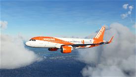 A32NX EasyJet Berlin - 8K Image Flight Simulator 2020