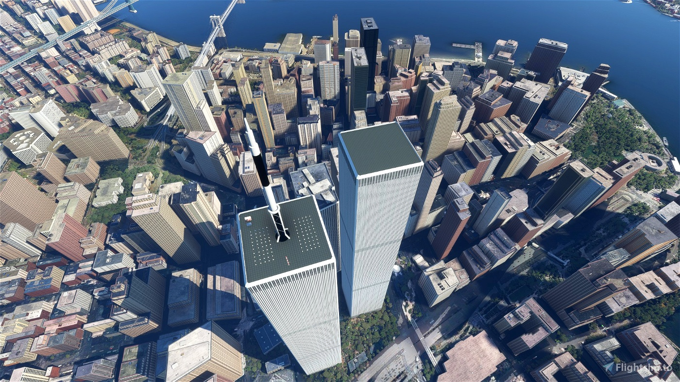World Trade Center New York City [WTC1 & WTC2 from 2001 and before]