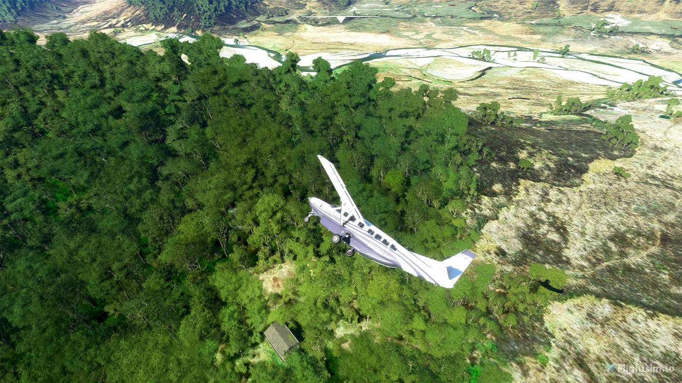 Northern Arms Airstrip - Kaimanawa Forest Park, New Zealand Flight Simulator 2020