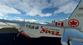(C208) Air Canada Jazz 8K (Fictional) Microsoft Flight Simulator