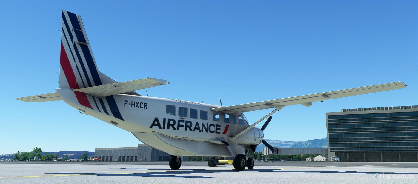 Cessna 208B Grand Caravan Air France [4K Fictional] Microsoft Flight Simulator