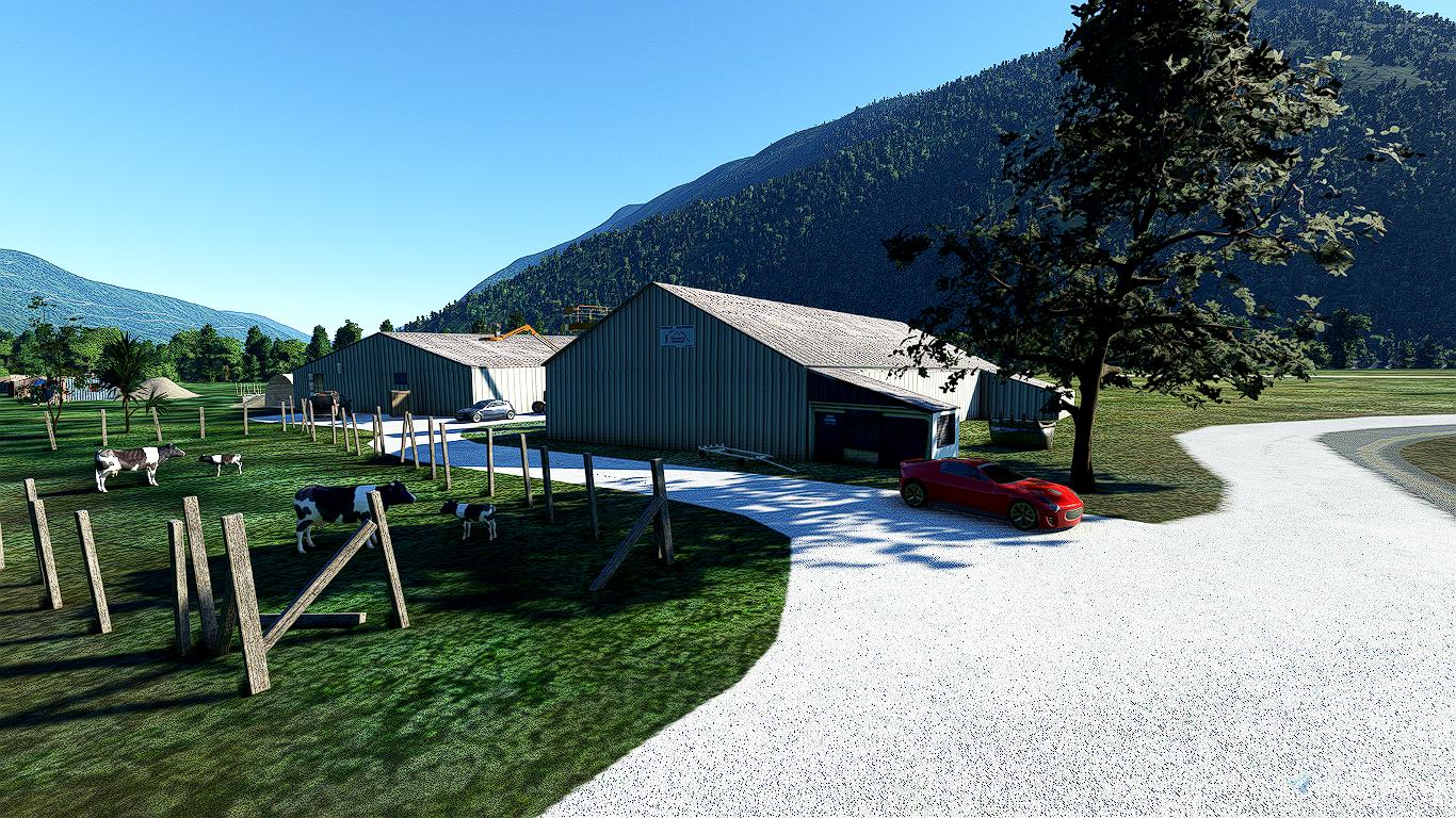 Aérodrome de Saint-Rémy de Maurienne Flight Simulator 2020