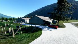 Aérodrome de Saint-Rémy de Maurienne Image Flight Simulator 2020