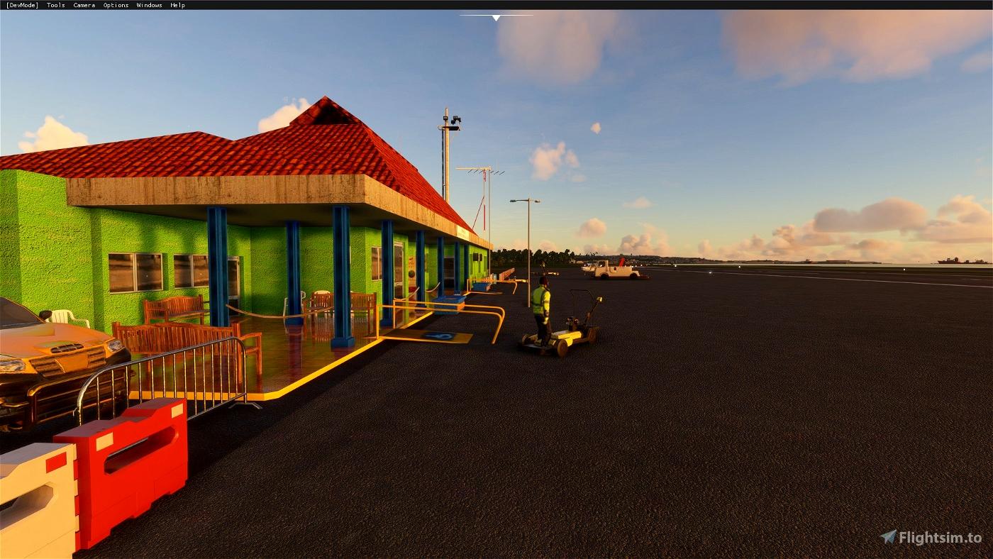 Aeropuerto internacional Limón Costa Rica  (MRLM)