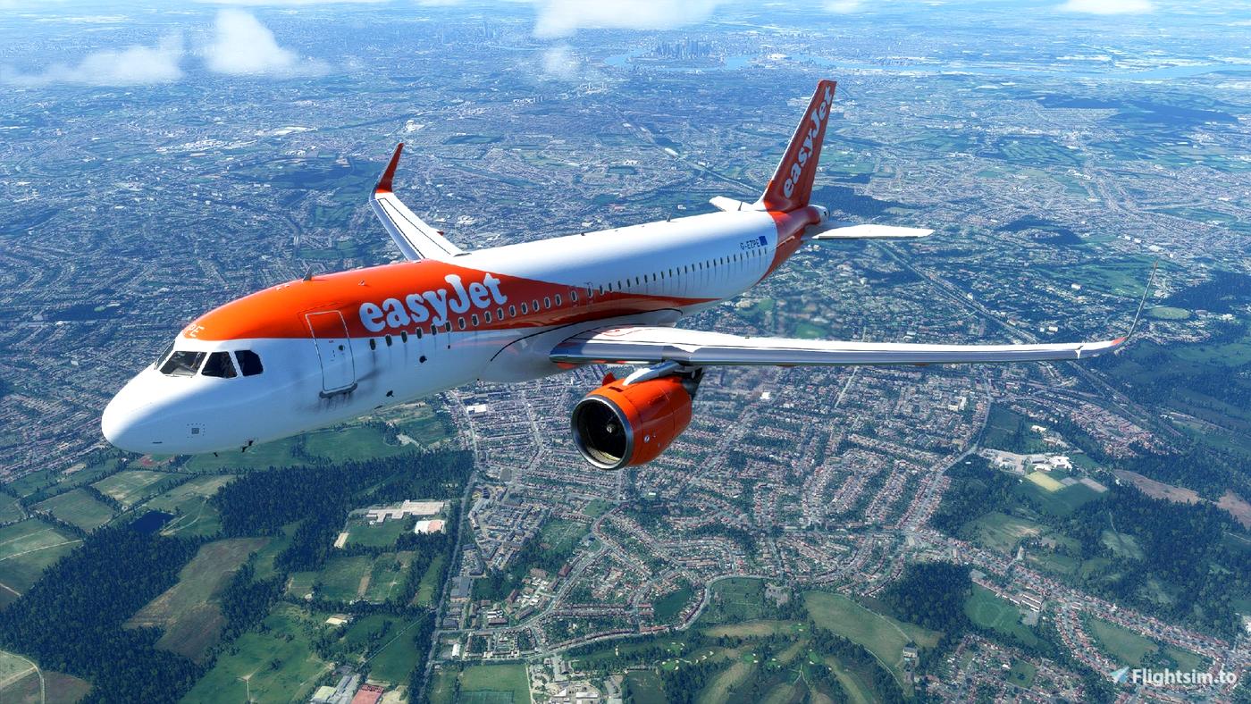 EasyJet A320Neo (Dirty) [8K] - FBW A32NX