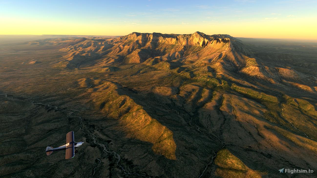 Guadalupe Mountains National Park Flight Plan Microsoft Flight Simulator