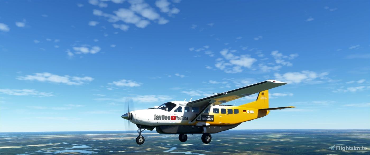 JDs Cessna 208B Mod Flight Simulator 2020
