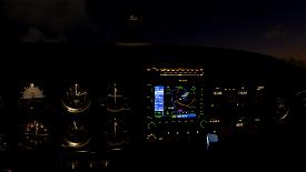 Just Flight PA28 Lighting Improvement Microsoft Flight Simulator