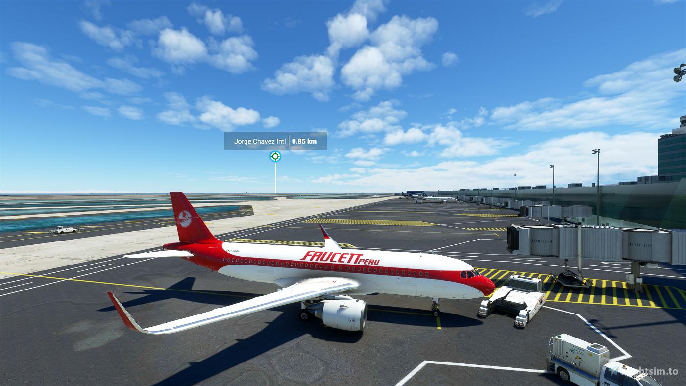 [A32NX] FBW AIRBUS A320NEO - FAUCETT PERU LIVERY V.1 Flight Simulator 2020