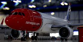 [A32NX] FlyByWire | Airbus A320neo Norwegian LN-DYI in 8k Microsoft Flight Simulator