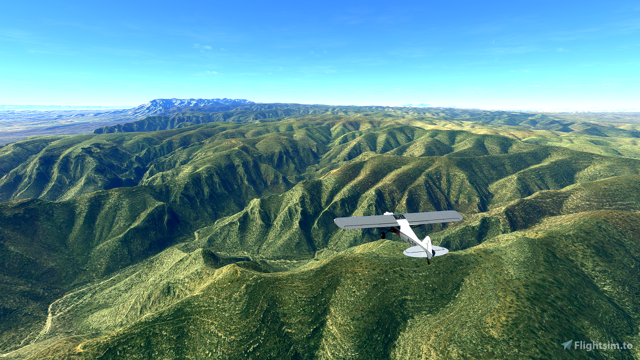 Guadalupe Mountains National Park Flight Plan
