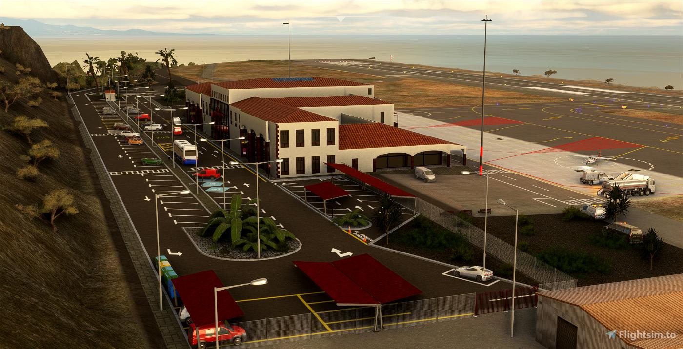 GCGM - La Gomera Airport - Canary Islands - Spain Microsoft Flight Simulator