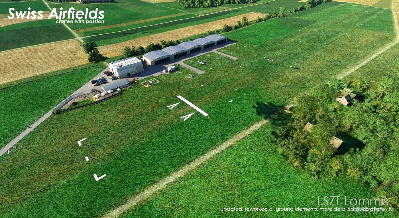 Swiss Airfields
