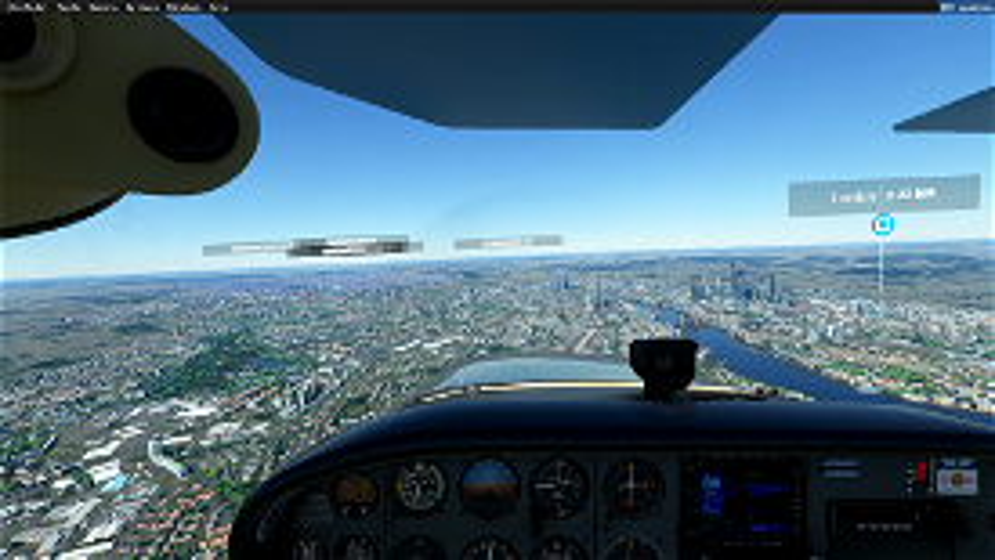 Támesis London-1 Image Flight Simulator 2020