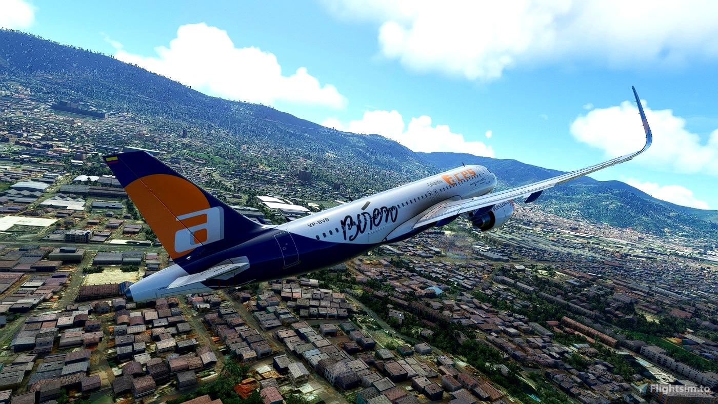 [A32NX] ACES NX Microsoft Flight Simulator
