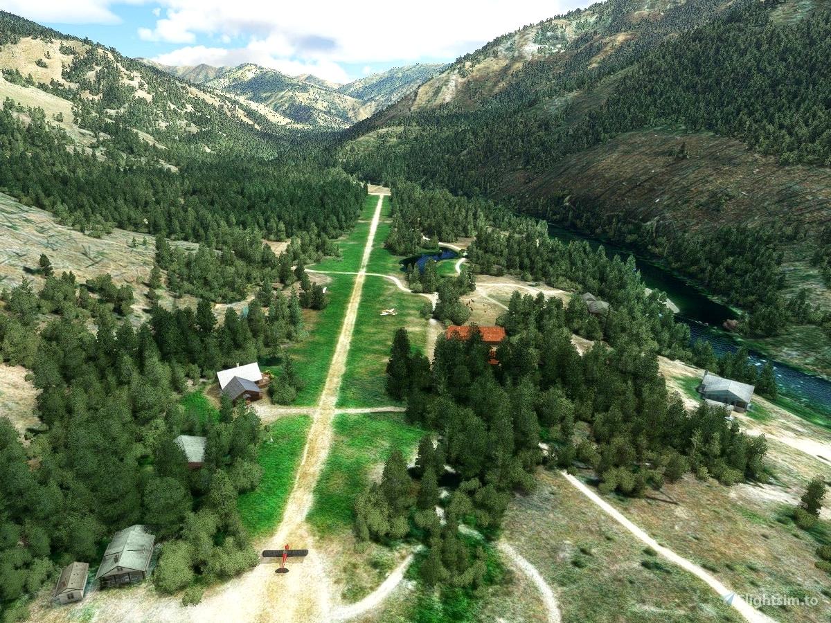 ID49 Pistol Creek Ranch, Idaho Flight Simulator 2020