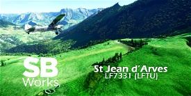 LF7331 Altisurface St Jean d'Arves (LFTU) Microsoft Flight Simulator