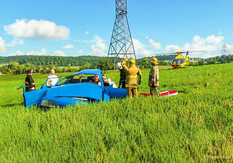 Helipads in Northern Bavaria + Emergency scenarios