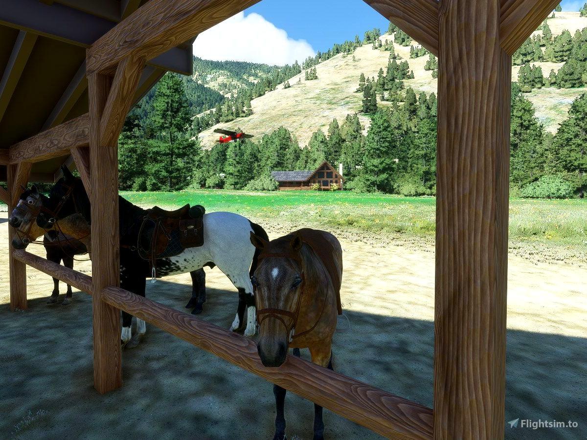 ID49 Pistol Creek Ranch, Idaho
