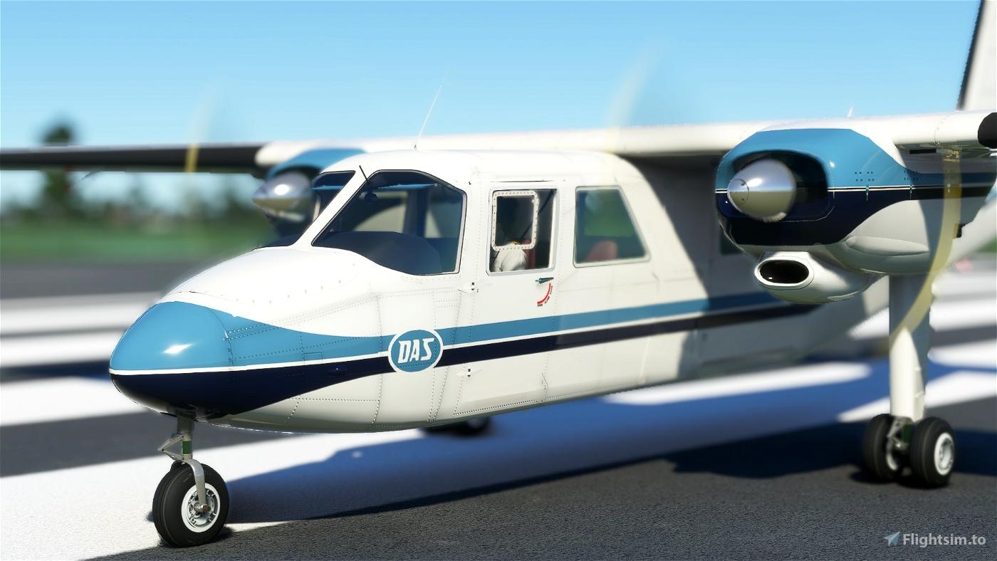 BN2A Islander Dirgantara Air Service
