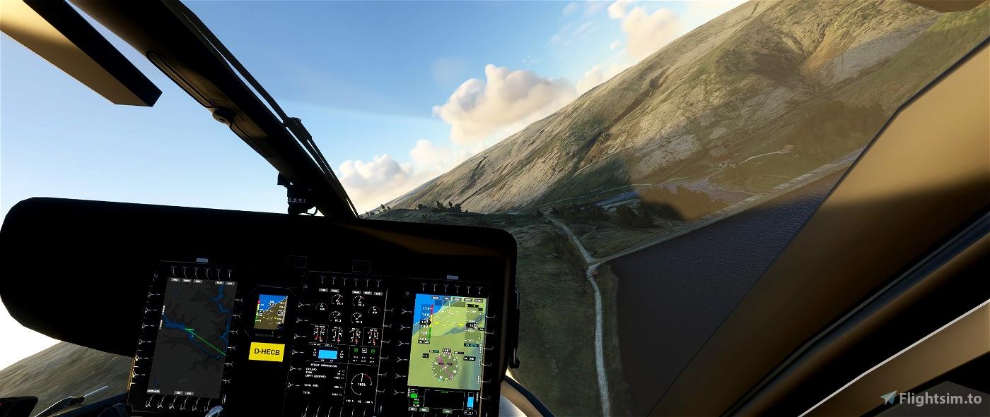 Wales Tour Flight Plan 170nm