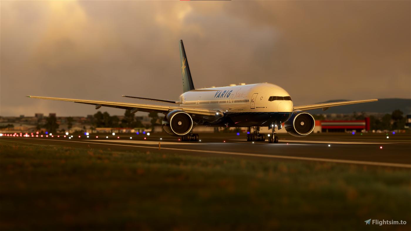 CS 777-200 VARIG | 8K