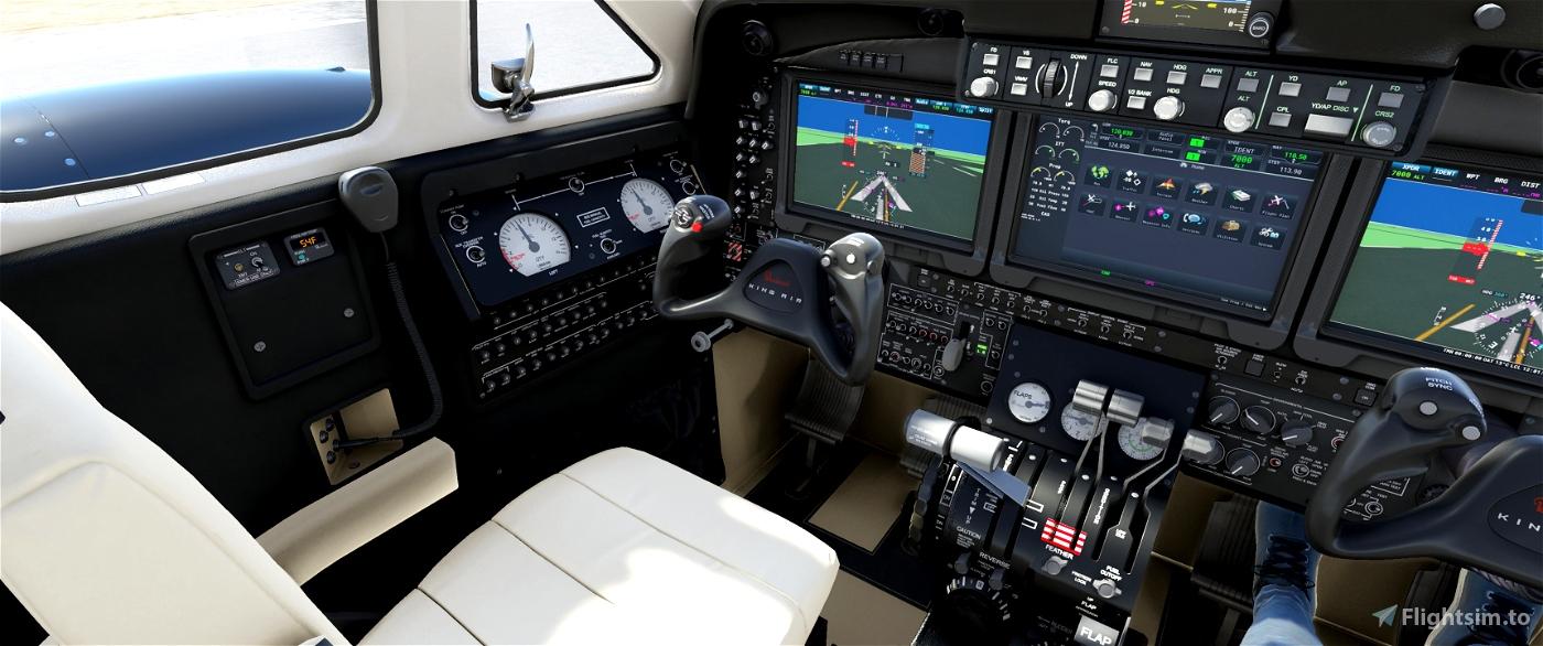 Beech King Air 350i - JDs Improvement Mod