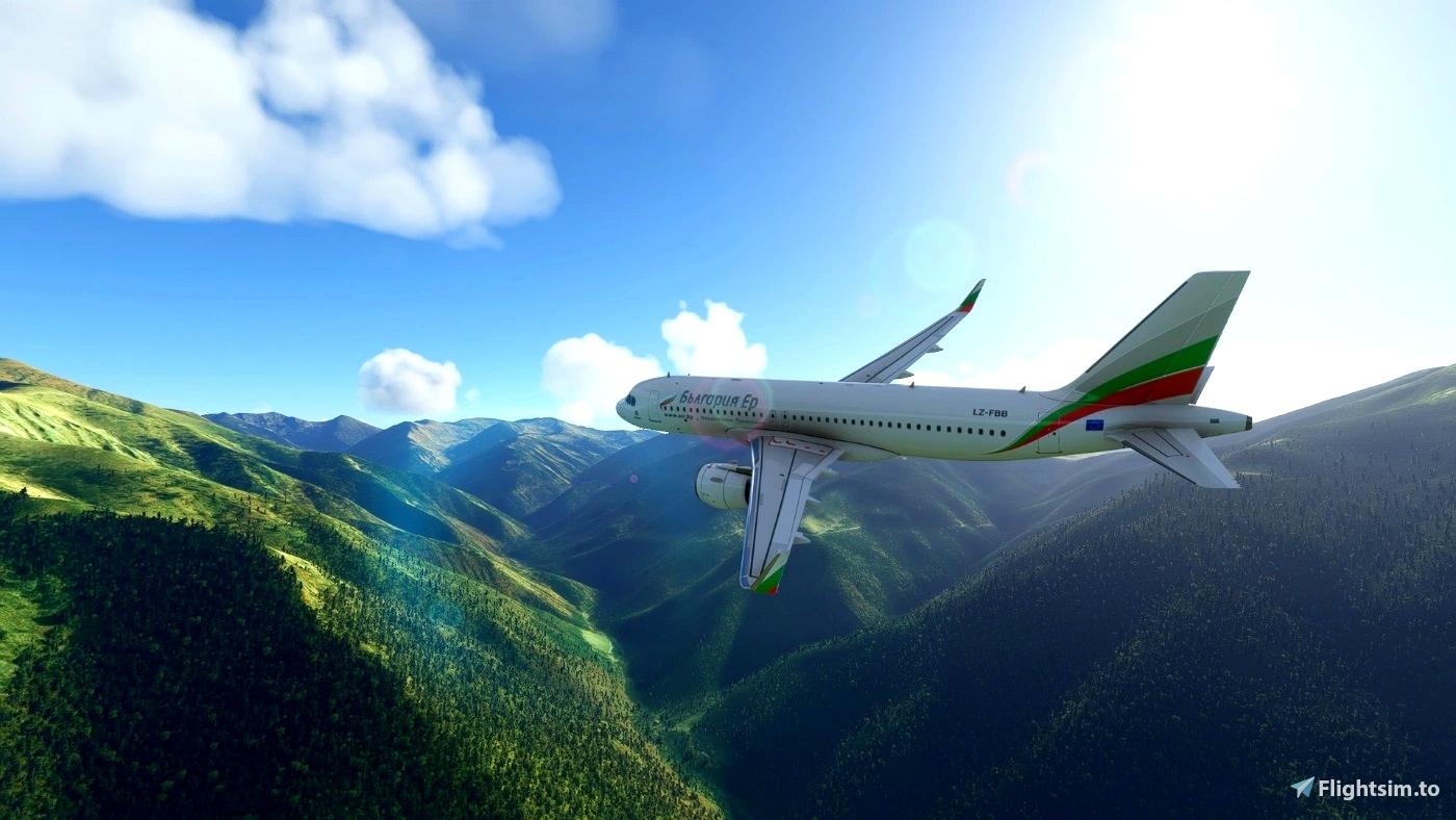 [A32NX] Bulgaria Air - България ер