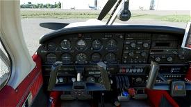 JustFlight Piper PA28 Turbo Arrow III - Clean Interior Mega Pack Microsoft Flight Simulator