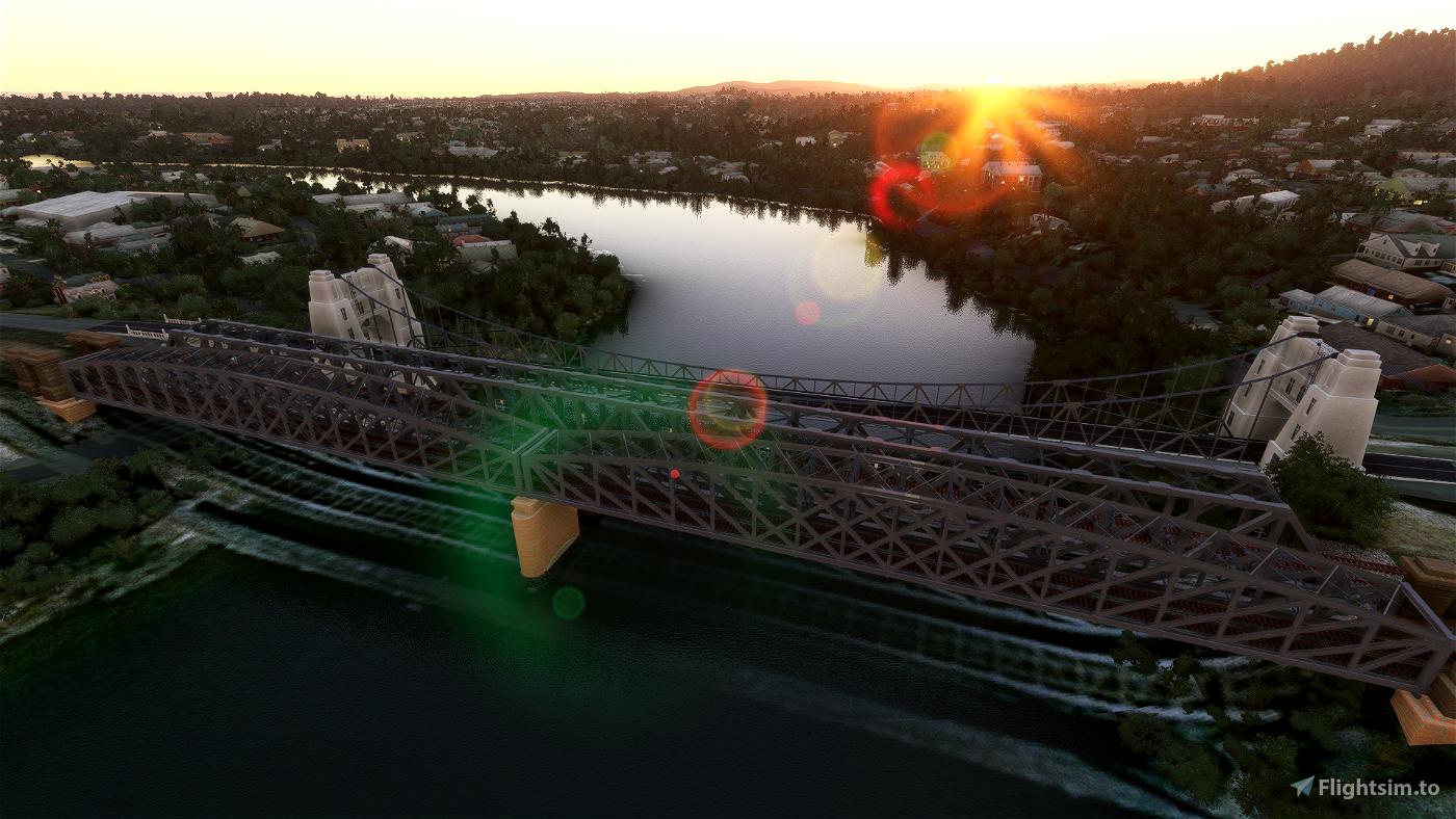 Indooroopilly Bridges (featuring the Walter Taylor Bridge)
