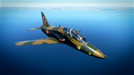 Indiafoxtecho Boeing T-45C Goshawk RCAF Hawk Royal Canadian Air Force Camo livery. Microsoft Flight Simulator