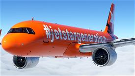 [A32NX] (13bandit) A320neo Jetstar 'Generation' [8k] VH-VGF Microsoft Flight Simulator