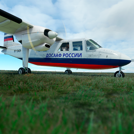 Britten-Norman BN-2 Dosaaf Russia (not a real) Microsoft Flight Simulator