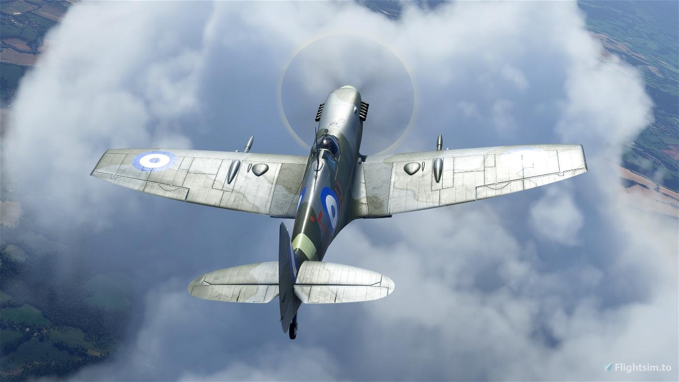 "Spitfire Mk.IX MJ755 ""The Greek Spitfire"" (G-CLGS)"