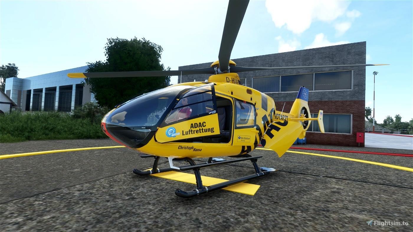 Christoph 50 (Hansa) - Hamburg - ADAC Luftrettung Flight Simulator 2020