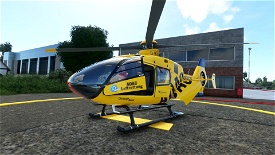 Christoph 50 (Hansa) - Hamburg - ADAC Luftrettung Microsoft Flight Simulator