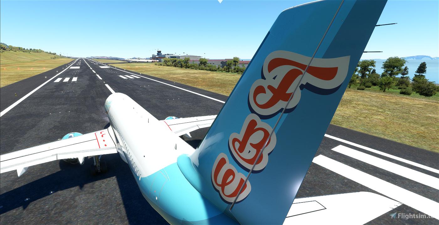 [A32NX] Airbus A320neo - FlyByWire Retro Microsoft Flight Simulator