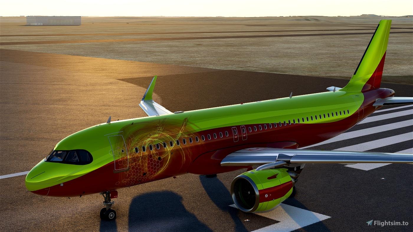 FlyByWire_A32NX_KINGRAMI777 FIRE Microsoft Flight Simulator