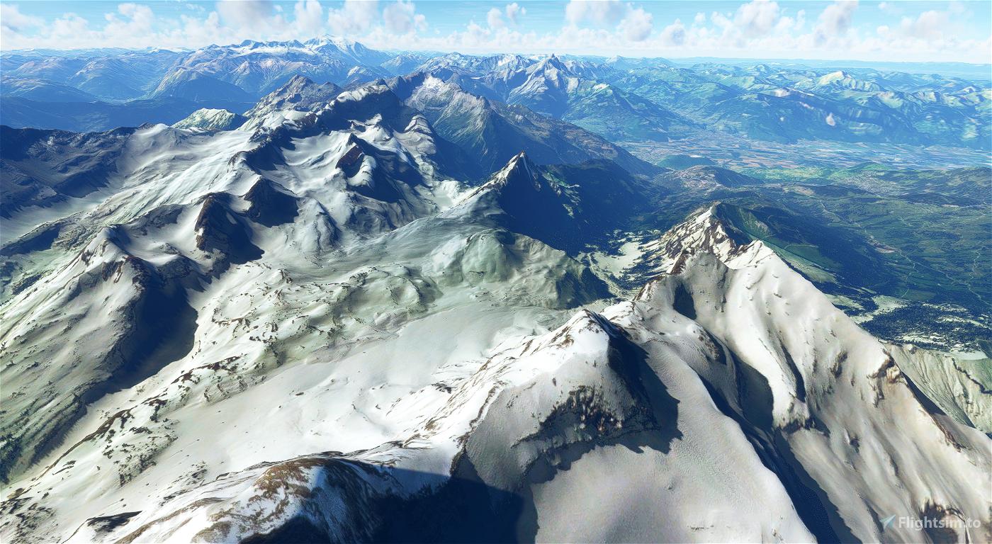 SWITZERLAND 20m DEM - High Resolution Terrain Elevation Data from LIDAR Imaging