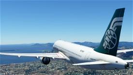 [A32NX] Airbus A320neo - Air Afrique Microsoft Flight Simulator
