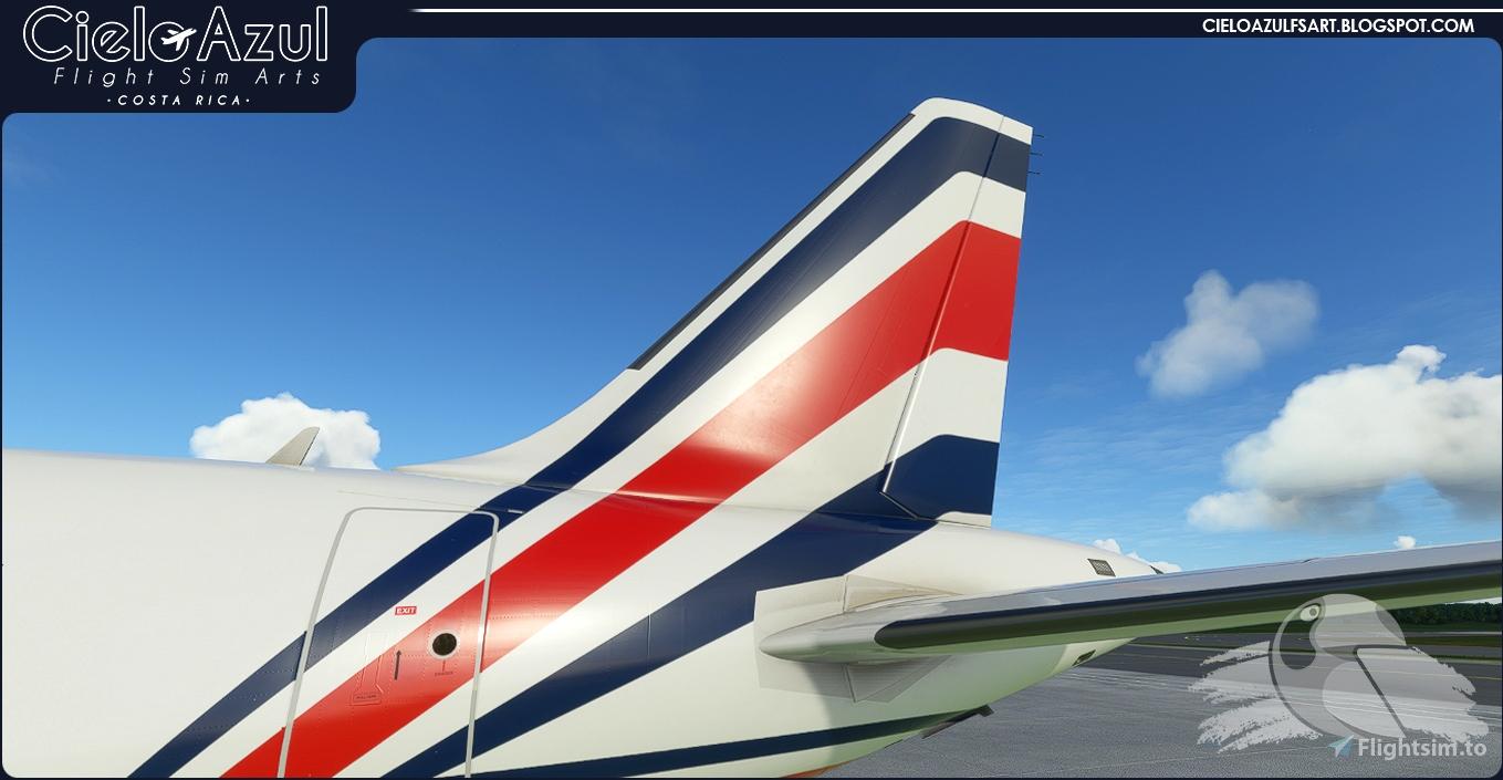 [A32NX] LACSA | N483GX & N485GX | FlyByWire Airbus A320neo (8K) Microsoft Flight Simulator