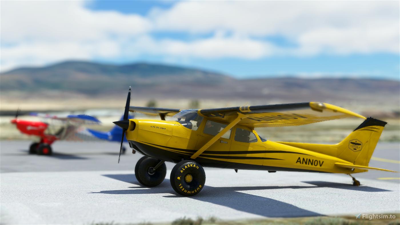 bagolu C172 Taildragger Yellow Bush Livery (Neofly and STOLL)